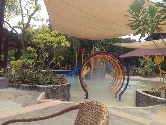 Villa Escudero: Pool area