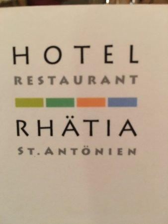 St. Antonien, Switzerland: Restaurant logo
