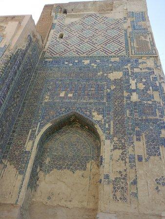 Shakhrisabz, Usbekistan: 青いタイル