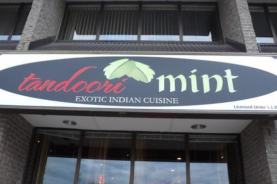 Tandoori Mint: The exterior, King St. E