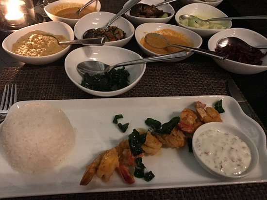 The Wallawwa: Amazing prawn rice curry really enjoyed it exceptional food