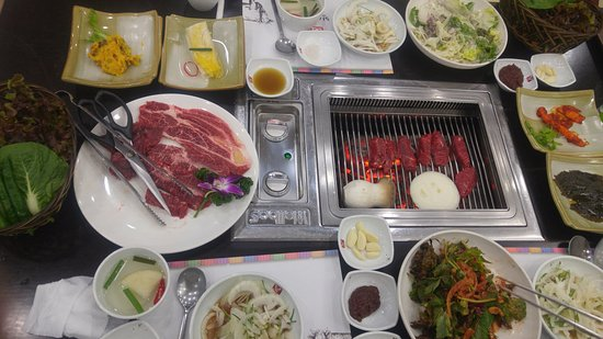Hoengseong-gun, South Korea: food