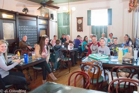 Pittsboro, Karolina Północna: We host a great birthday party from 20-50 in the upstairs banquet space