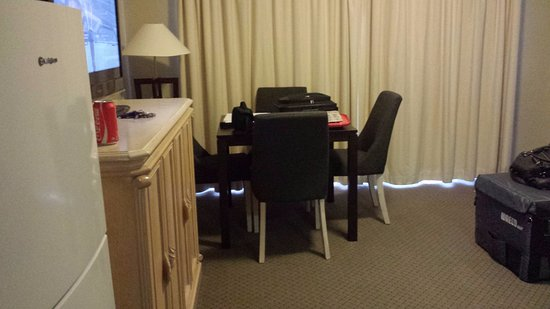 2nd room - different dining room chairs and table - Picture of ...