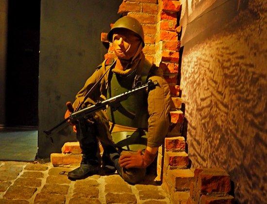 Гусев, Россия: Экспозиция «Гумбиннен 1944-1945 гг.»