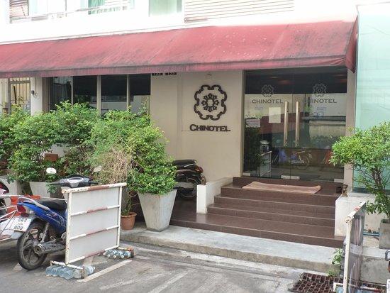 Chinotel Phuket: Façade de l'hôtel