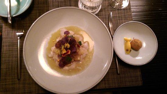 Hotel Vitznauerhof: Essen im Sens
