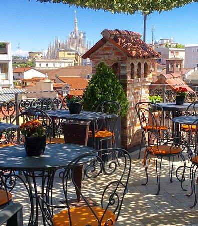 terrazza - Picture of Ristorante Santa Marta, Milan - TripAdvisor
