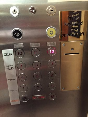 Copthorne Tara Hotel London Kensington: lift