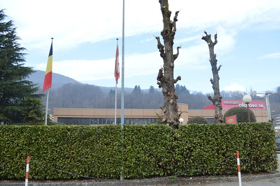 Caslano, Switzerland: the factory