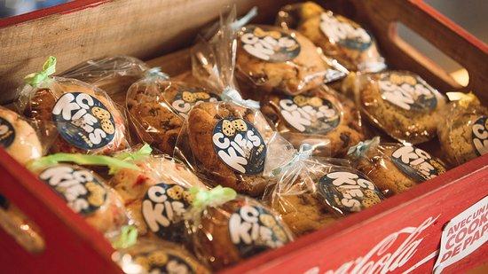 Oullins, France: Les cookies maison de Papa