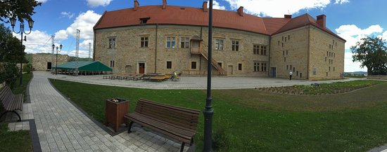 Sanok, Poland: Panorama zamku