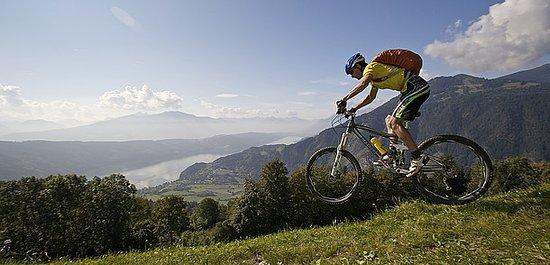 Österrike: Mountainbiking i Millstättersee
