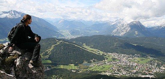 Österrike: Seefeld Rosshütte, Nordlingerhütte