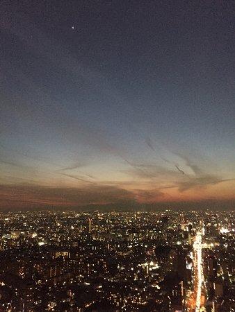Tokyo City View Observation Deck (Roppongihills): 夕景から夜景 とても感動しました!