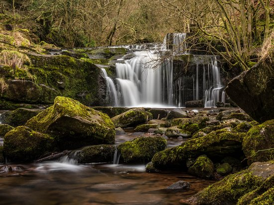 Creative Photography Wales: Waterfall above Talybont on Use