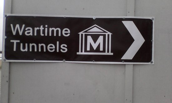 Ramsgate, UK: Signage to tunnels is good but different names - also Maritime Tunnels