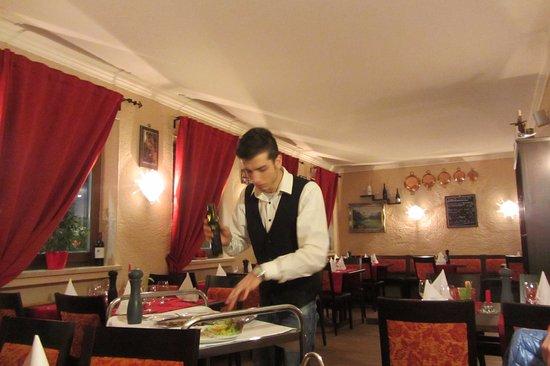 Gmund am Tegernsee, Tyskland: Der Chef bei der Arbeit