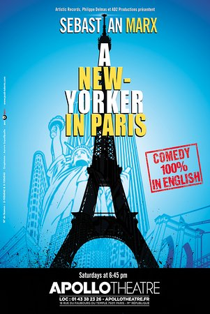 A New Yorker in Paris: Show poster
