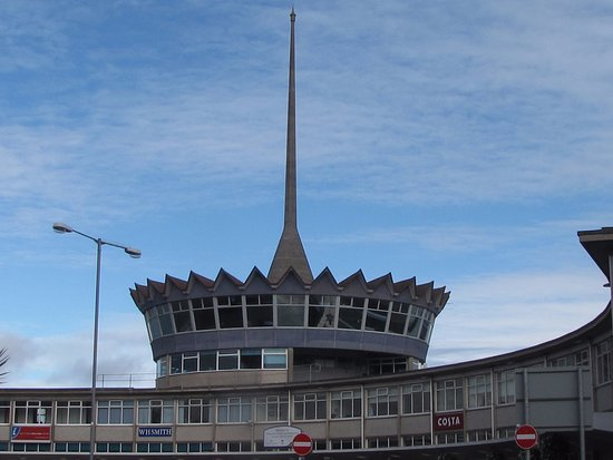 Douglas, UK: The Crown of the Terminal building inside a wealth of Knowledge