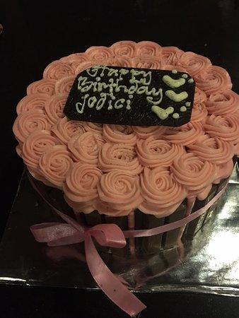 Amor Bali Villa: our yummy cake
