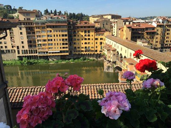 Hotel Hermitage: Vue de la terrasse