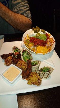 Naaldwijk, Hollanda: Starter dish: route 67