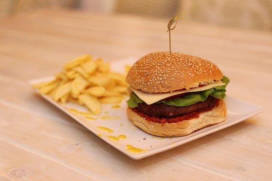 Andros Town, Grecia: Black Angus Burger