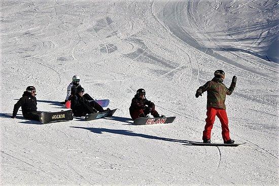 Passo del Tonale, Ιταλία: Snowboard's lesson