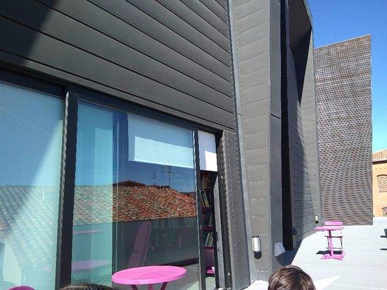 Centro de Arte Caja de Burgos: La terraza