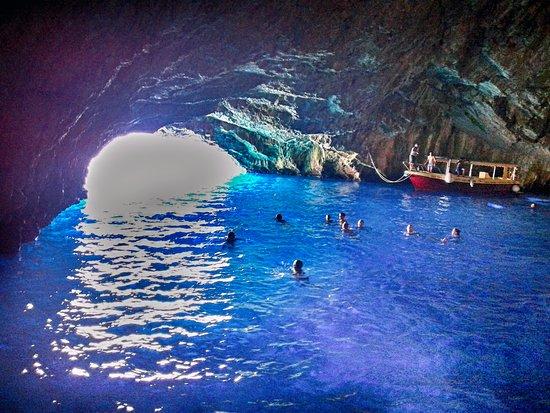Blue Grotto Tour - Picture of Delfin Boats, Herceg-Novi - Tripadvisor