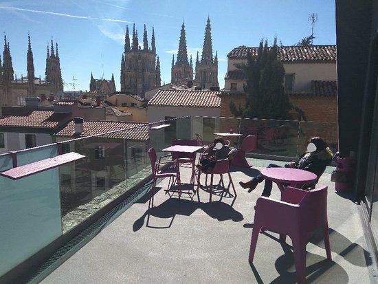 Centro de Arte Caja de Burgos: Vistas de la catedral