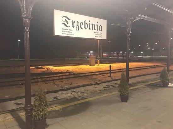 Trzebinia, Polônia: L'Antica Stazione