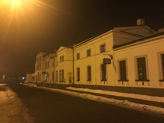 Trzebinia, Polen: L'Antica Stazione