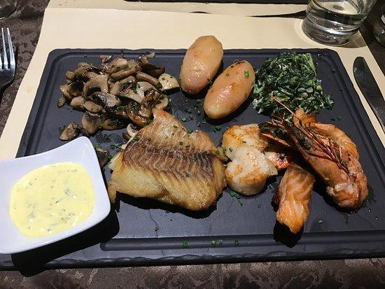 Restaurant Le Drakkar: Seafood plate