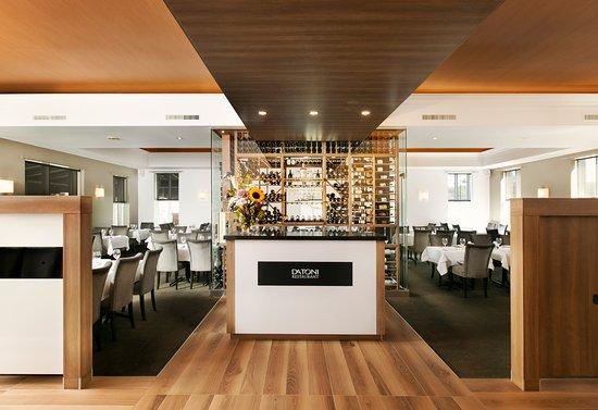 Restaurant Da Toni : L'îlot d'accueil du Da Toni