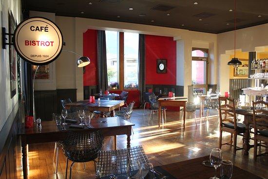St-Leonard, Zwitserland: Intérieur Restaurant