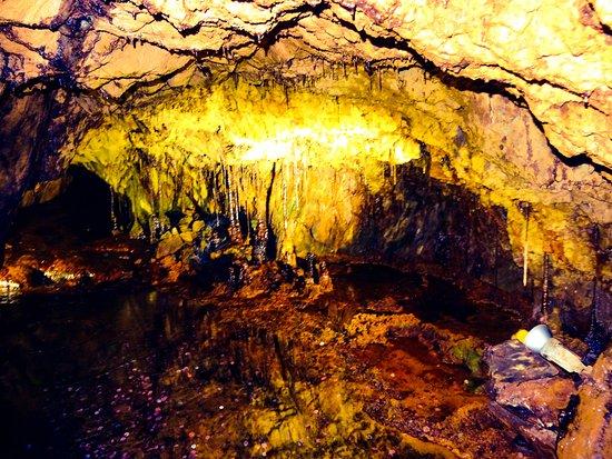 Sygun Copper Mine : Inside