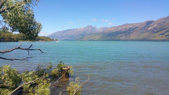 Queenstown, New Zealand: lago