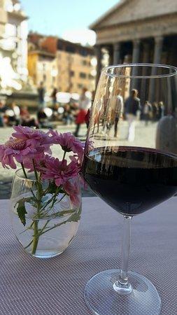 Ristorante Di Rienzo : vino rosso