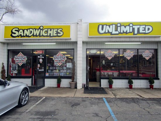 Ledgewood, Нью-Джерси: Sandwiches Unlimited Lunch Box