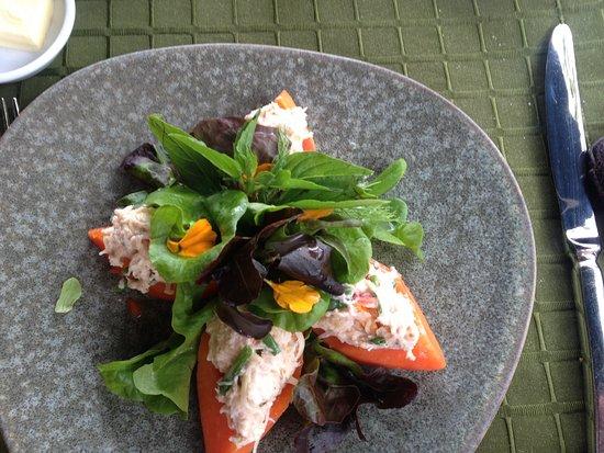 Mandarin Oriental, Bangkok: Krebssalat...mmmh lecker & leicht