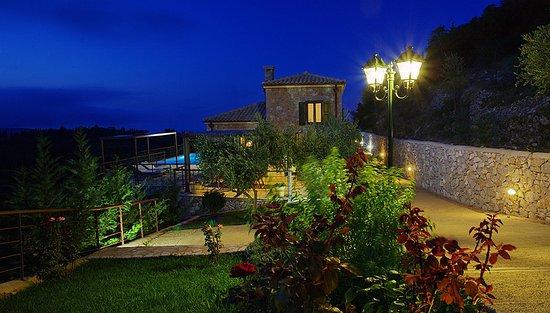 Spanochori, Greece: night view