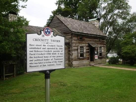 Crockett Tavern Museum: Crockett Tavern