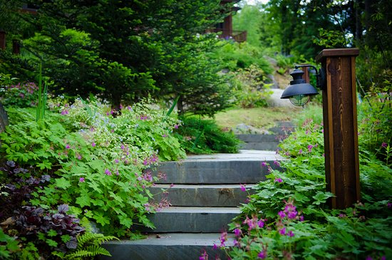 Chestertown, NY: the magnificent gardens