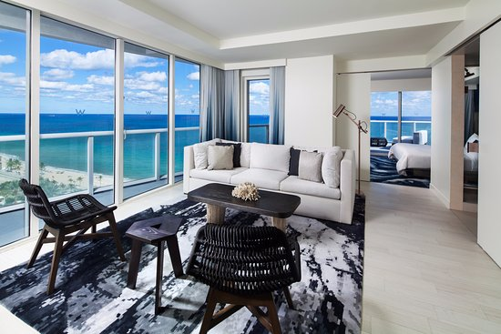 Oasis Oceanfront Suite Picture Of W Fort Lauderdale Fort Lauderdale Tripadvisor