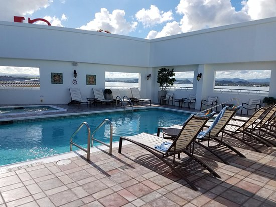Sheraton Old San Juan Hotel: Roof Top Pool