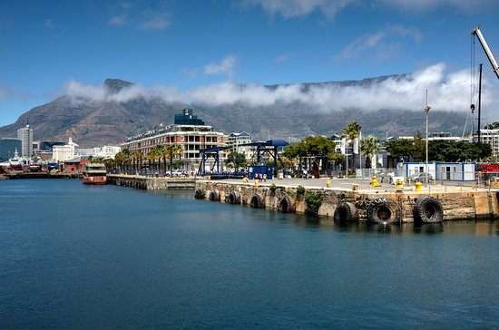 Cape Grace: View from the centre of the WaterFront