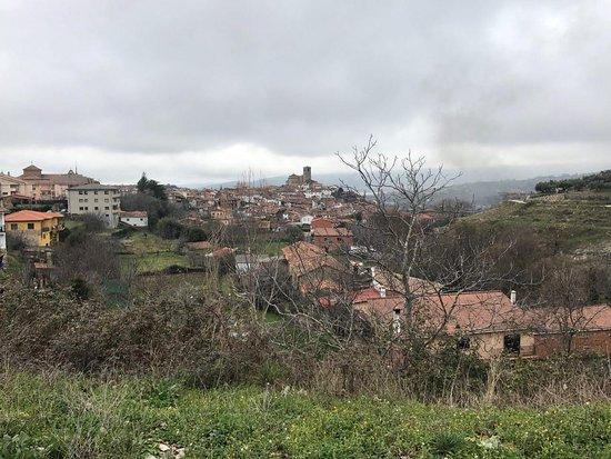 Tejeda de Tietar, Espagne : vistas trasera desde el balcón de la habitación