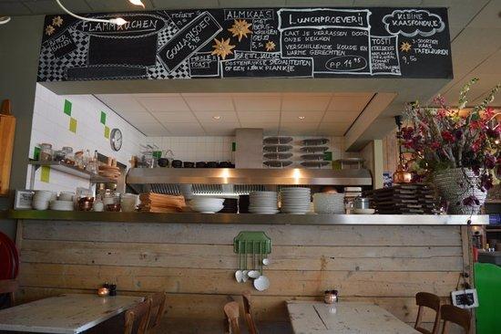 Berkel en Rodenrijs, Países Baixos: Zicht op de keuken